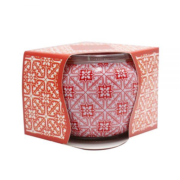 Lumanare parfumata in pahar Apple & Cinnamon