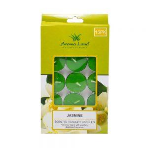 Set 15 lumanari parfumate pastila Jasmine