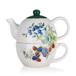 Set ceai Forest Fruit 2 piese ceramica