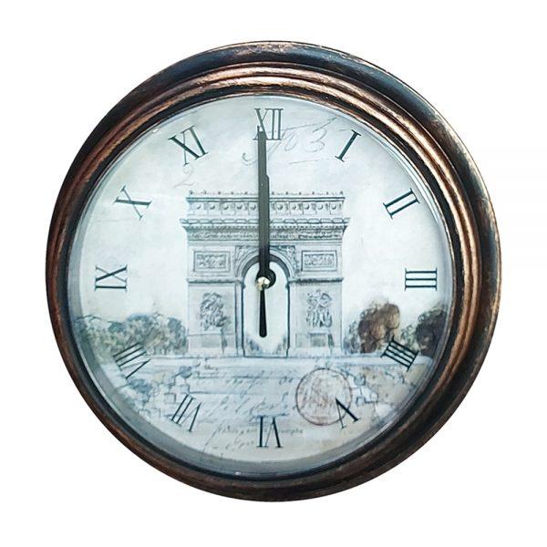 Ceas perete Arc De Triomphe vintage 23cm