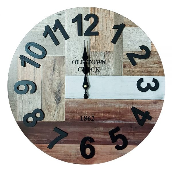 Ceas perete Old Town Clock vintage 40cm