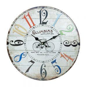 Ceas perete Romantic Paris vintage 30cm