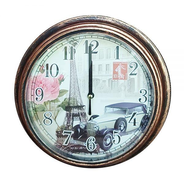 Ceas perete Tour Eiffel vintage 23cm