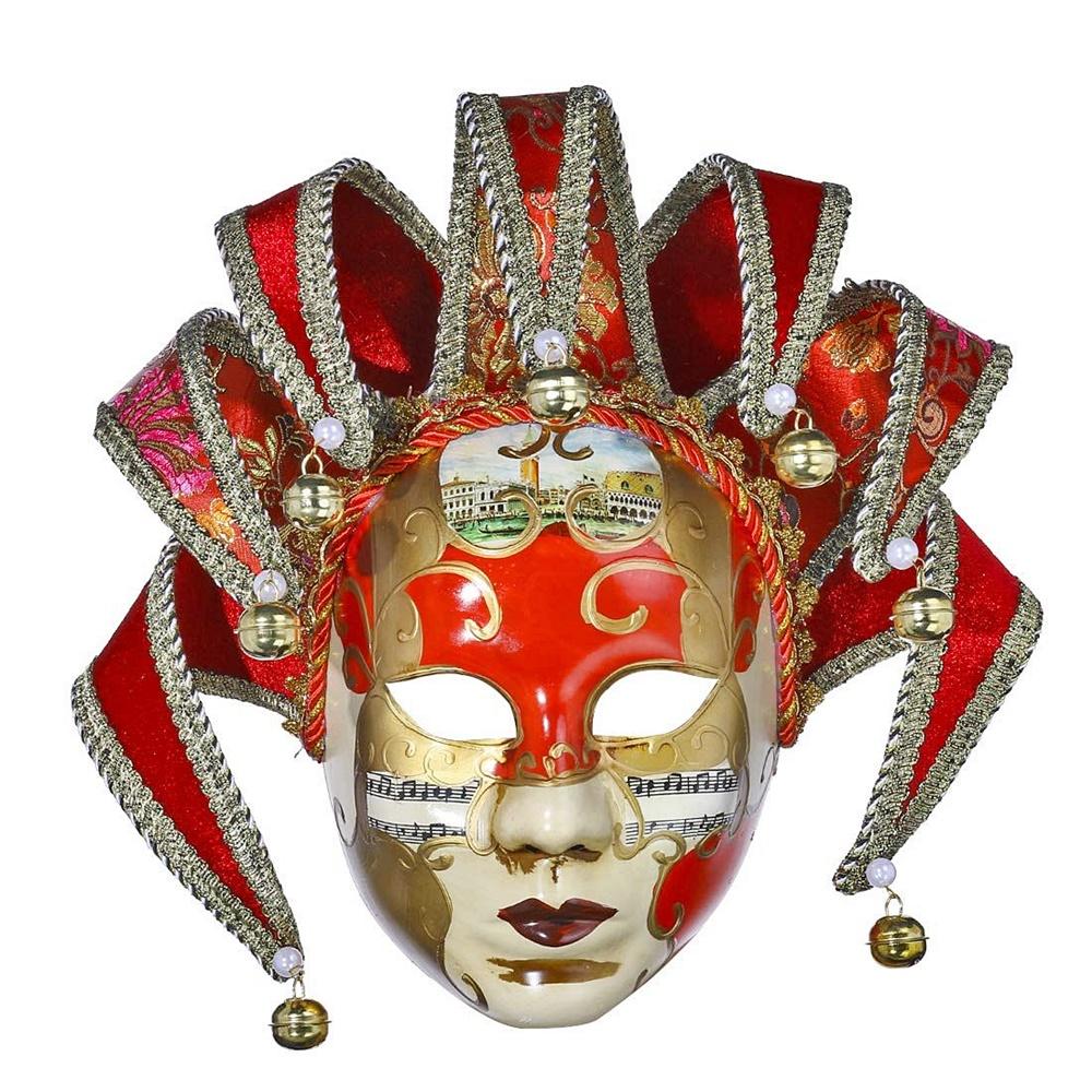 Masca venetiana decorativa Red Phantom