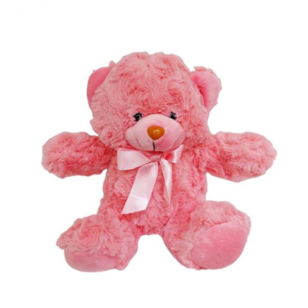 Ursulet de plus roz Fuzzy Bear 20cm