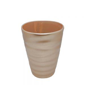 Vaza ceramica Goldies vintage 16cm