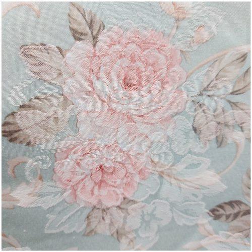 Fata de masa Romantic Mint brocart 140x180cm