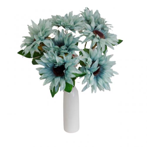 Floarea Soarelui artificiala Blue Sunny 50cm
