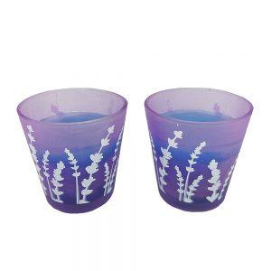 Lumanare parfumata Lavender Scent 6x6cm
