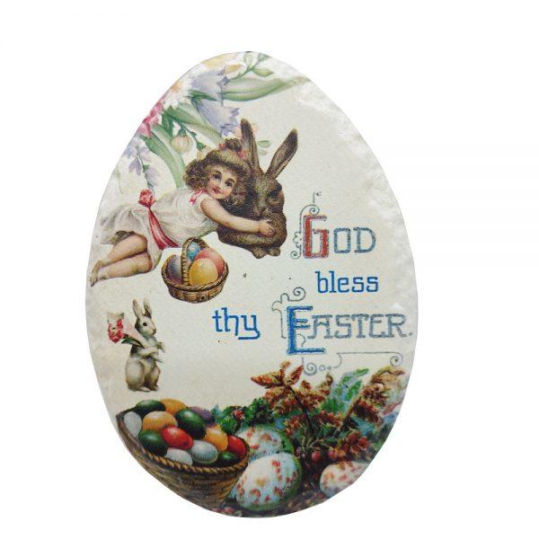 Ou ceramica Easter 10x15cm decor masa