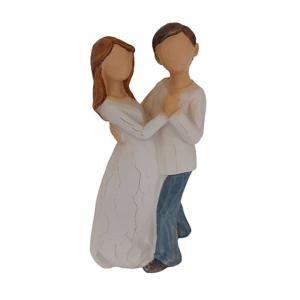 Statueta cuplu indragostiti Dancing 15cm