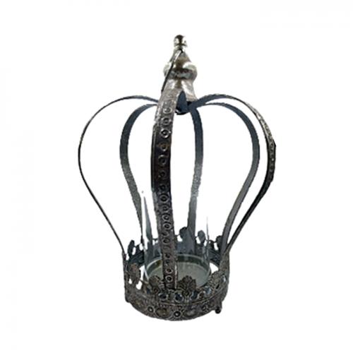 Suport lumanare Arthur coroana vintage 31cm