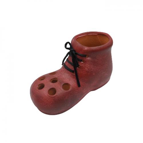 Suport pixuri Red Boot ceramica 14x6cm