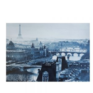 Tablou canvas Old Paris 35x50cm