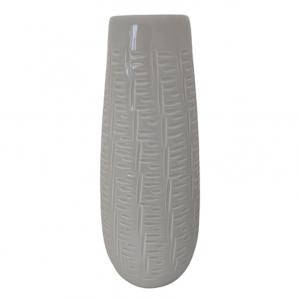 Vaza ceramica Esmeralda gri 27cm