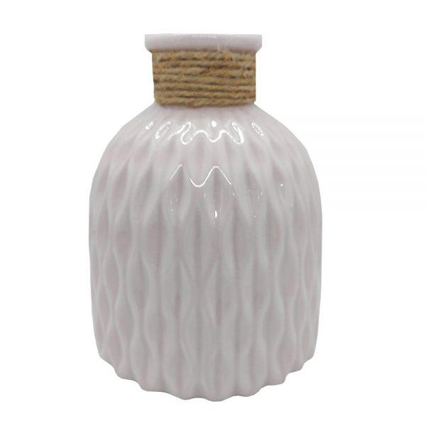 Vaza ceramica Old Country roz 15cm