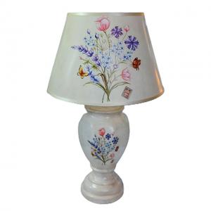 Veioza Geraldine ceramica lampa retro 50cm