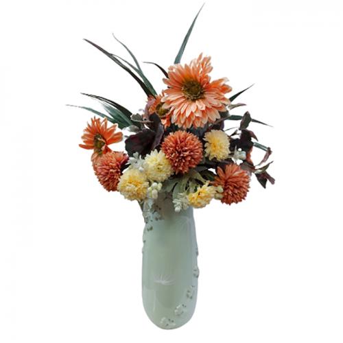 Aranjament flori Orange Melanie 50cm