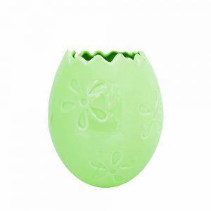 Ghiveci vaza ceramica Easter Egg 9x8.5cm