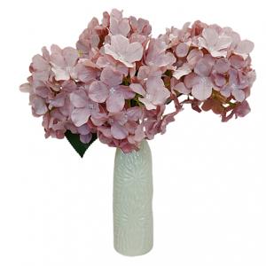 Hortensie artificiala roz Melinda 40cm