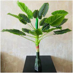 Planta artificiala Alocasia Marquise 100cm