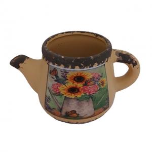 Stropitoare ceramica Sunflower ghiveci 7cm