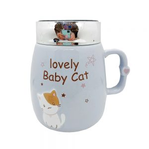 Termos pisica Belinda cana ceramica 400ml