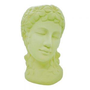 Vaza ceramica Aphrodite verde, Statueta 24cm