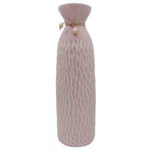 Vaza ceramica Elise roz 25cm
