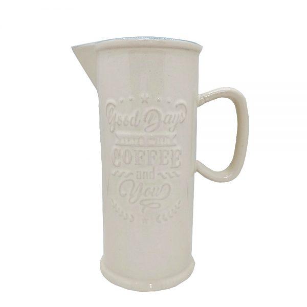 Carafa ceramica Antique Coffee 17cm