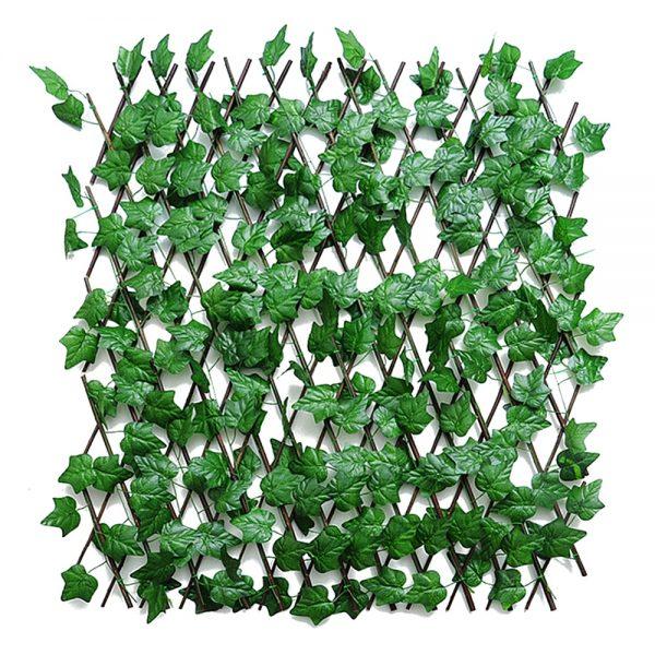 Gard artificial frunze Ivy Fence extensibil