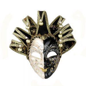Masca venetiana decorativa Black Joker