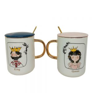 Set 2 cani Queen & King 350ml