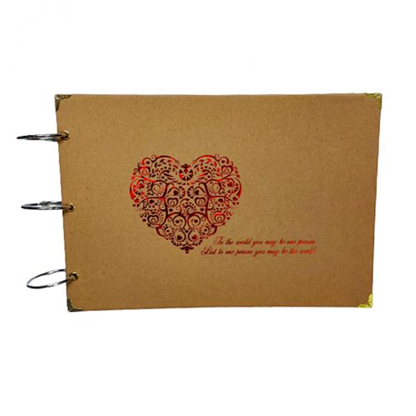 Album foto retro Love 26x18cm scrapbook DIY