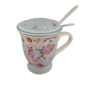 Cana portelan Mademoiselle, Set pentru ceai