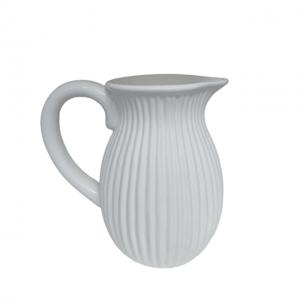 Carafa alba ceramica Juliette vaza 20cm