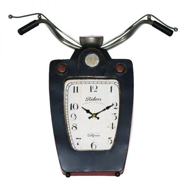 Ceas perete Motorcycle Handle 38x42cm