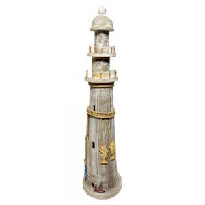 Far decorativ Antique Lighthouse 75cm lemn