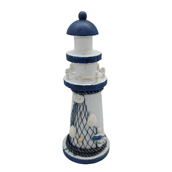 Far decorativ Navy Lighthouse 19cm lemn