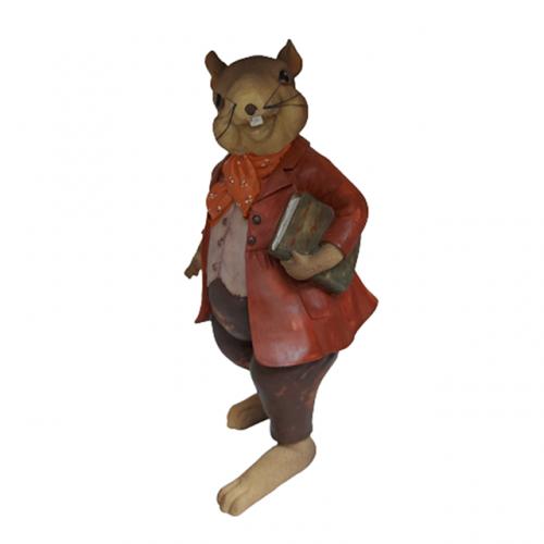 Figurina soarece Teacher Mortimer 6x18cm