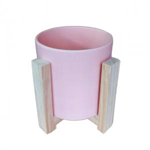 Ghiveci ceramica rotund Berenice roz