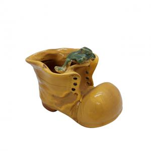 Ghiveci ceramica Yellow Boot 6x9x14cm
