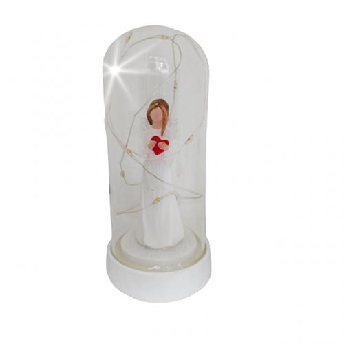 Glob sticla statueta Laila cu leduri