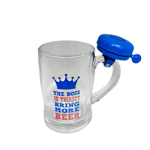 Halba bere Thirsty Boss cu claxon