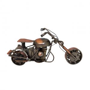Motocicleta metal Rider miniatura 20x7x11cm