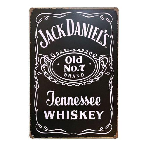 Placa metalica Jack Daniel's poster vintage