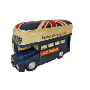 Pusculita de bani London Bus 20x7x13cm rasina