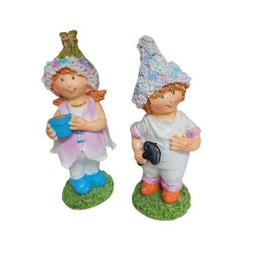 Set 2 figurine Anna & Saul 10cm rasina