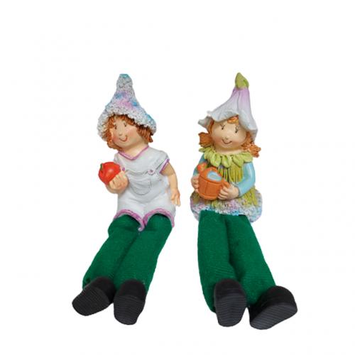 Set 2 figurine Anna & Saul 5cm rasina