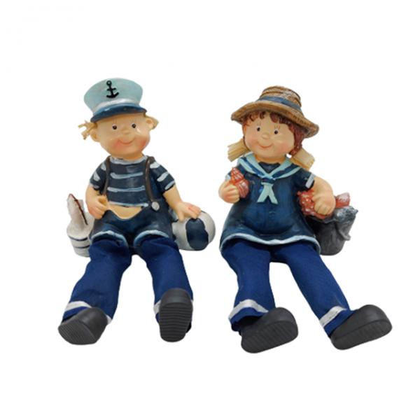 Set 2 figurine marinari Sailor Family